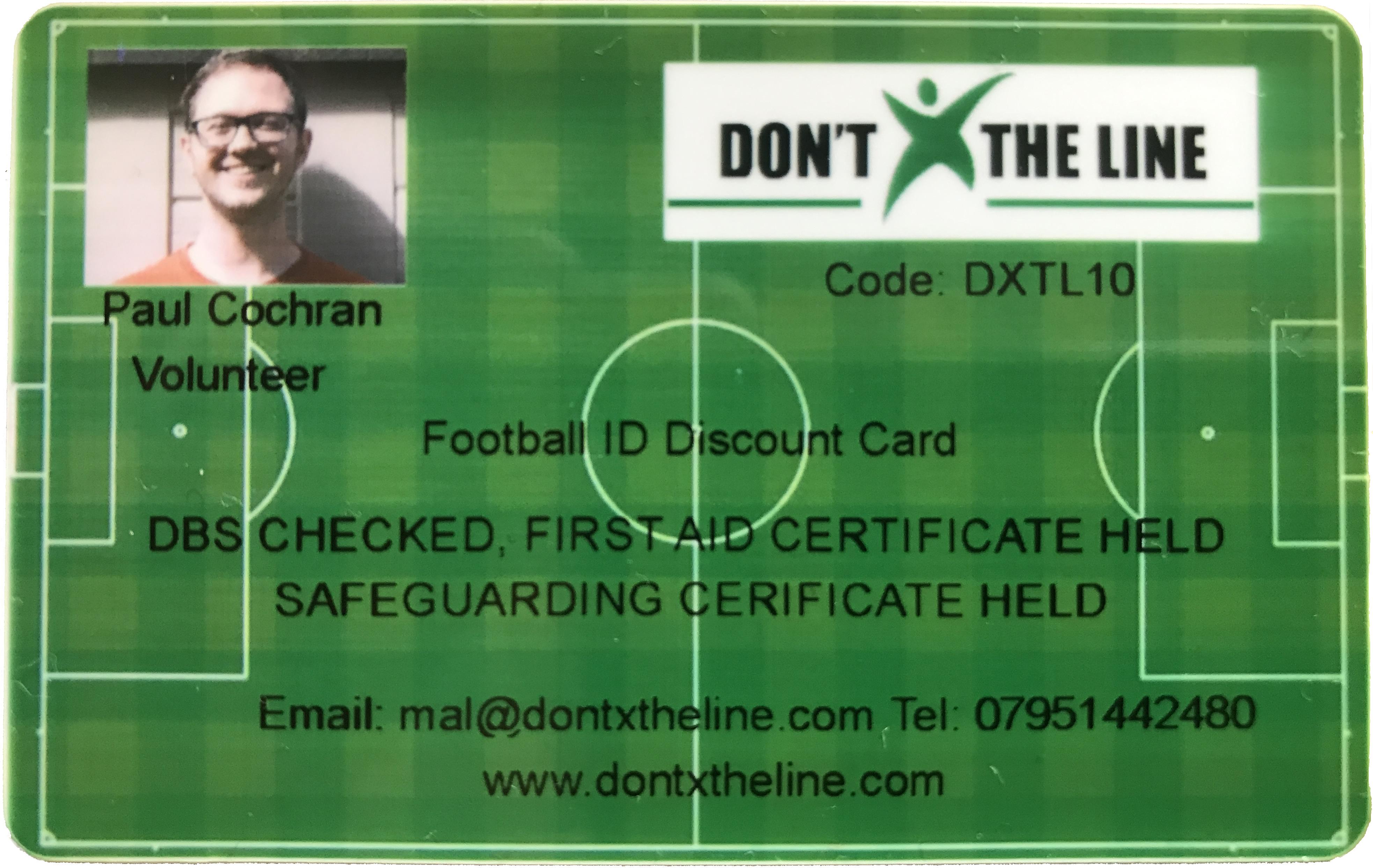 DXTL ID card